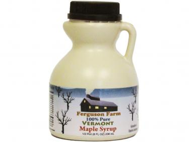 Jug Half Pint - 100% Pure Vermont Maple Syrup
