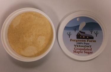 Granulated Maple Sugar - 8oz Tub