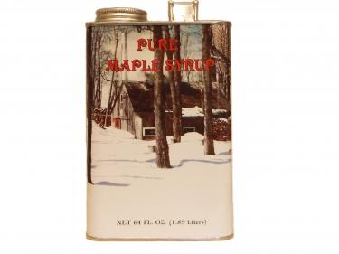 Half Gallon Tin - 100% Pure Vermont Maple Syrup