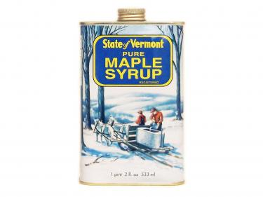 Vermont Tin Pint - 100% Pure Vermont Maple Syrup