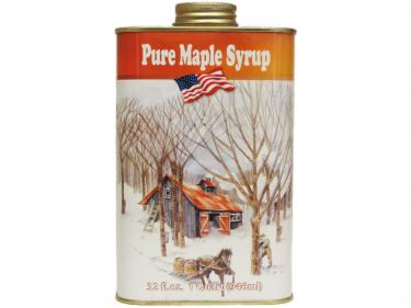 Classic Tin Quart - 100% Pure Vermont Maple Syrup