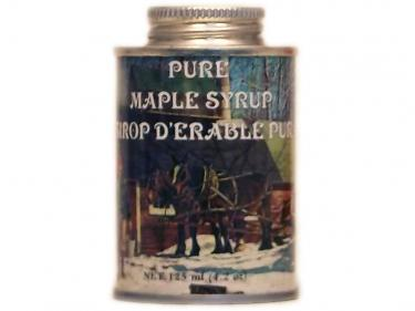 Round Tin (4oz) - 100% Pure Vermont Maple Syrup