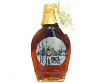 Sap Gatherer Glass Bottle 250ml - 100% Pure Vermont Maple Syrup