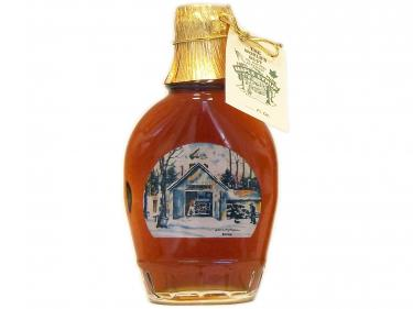 Sugar House Glass Bottle 250ml - 100% Pure Vermont Maple Syrup
