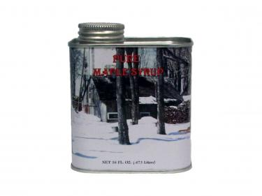Pint Tin - 100% Pure Vermont Maple Syrup