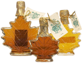 Maple Leaf Shaped Glass